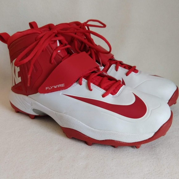 Nike Shoes | Flywire White And Red